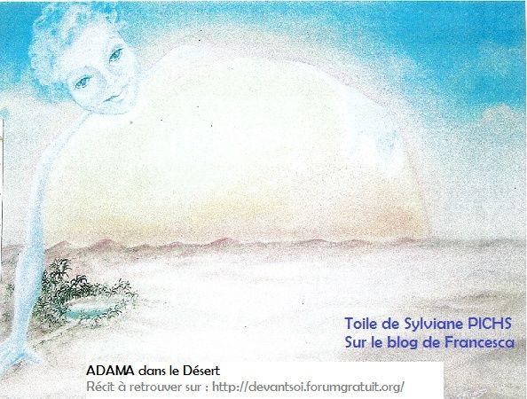 Adama dans le désert