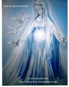 14 - La Vierge aux 4 Colombes - Juillet 1993