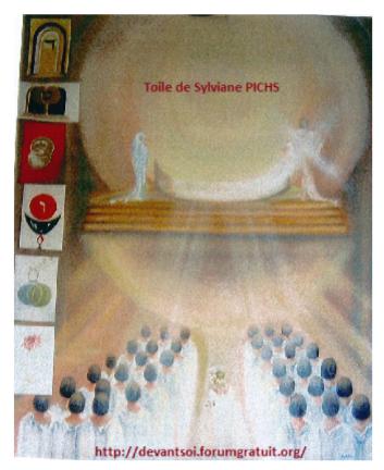 4 - La cathédrale de l'Initiation - juin 1997