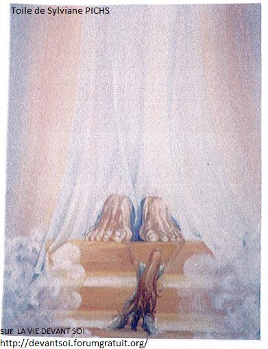 8 - Marie-Madeleine aux pieds de Jésus - Mai 1992