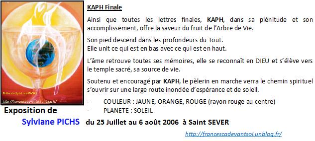 CARTE KAPH Finale