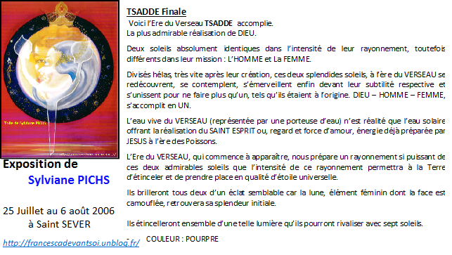 CARTE - Tsadde finale