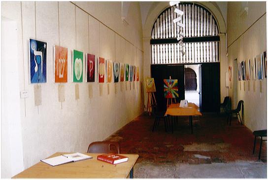 Salle exposition Sylviane PICHS